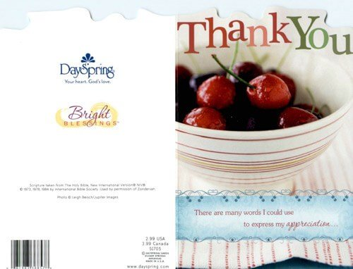 Thank You Card 1